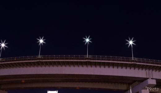 芝浦埠頭レインボーブリッジ撮影に挑戦
