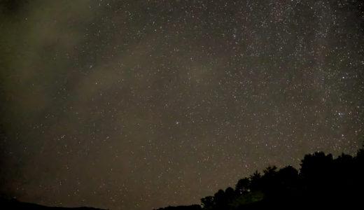オリンパスE-PL7 車山高原にて星空撮影