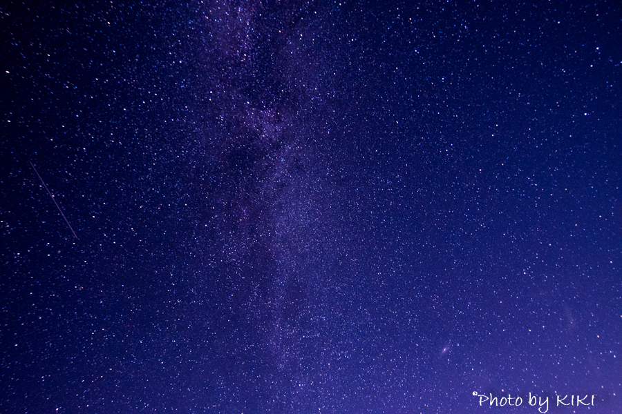 NikonD5300 富士山五合目星空撮影