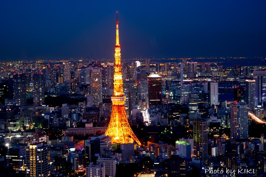 [NikonD5300]六本木ヒルズ展望台で夜景撮影