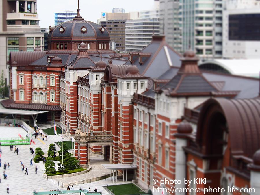 東京駅 ジオラマモード
