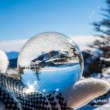 水晶玉景色